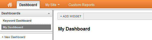 Google Analytics - Multiple Dashboard View